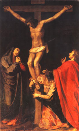 S_Pulzone_Crucifixión_Santa_Maria_in_Valicella_Roma