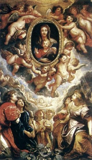 Chiesa Nuova Rubens Madonna