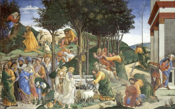 Botticelli Trials of Moses