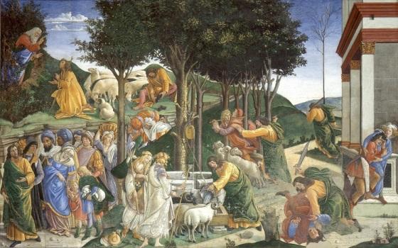 Botticelli Trials of Moses