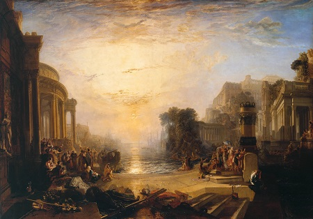 Turner, Decline Carthaginian Empire 1817
