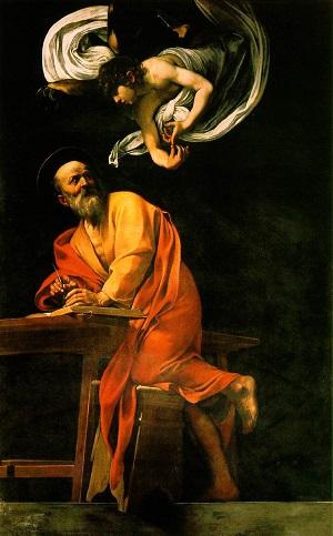 Caravaggio Matthew 2
