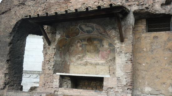 Capitoline ruins