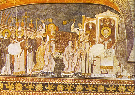 Clement fresco