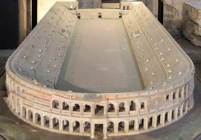 Stadium of Domitian model