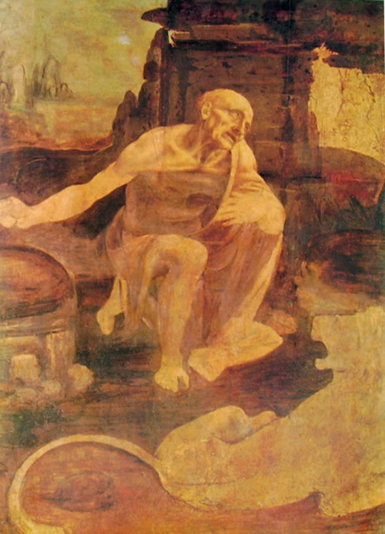 St Jerome Leonardo